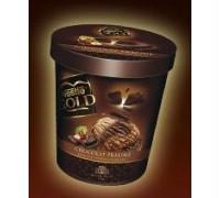 Helado Nestlé Gold con aditivos y carragenanos