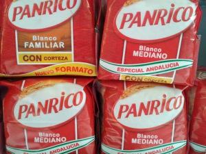 pan de molde Panrico con aditivos
