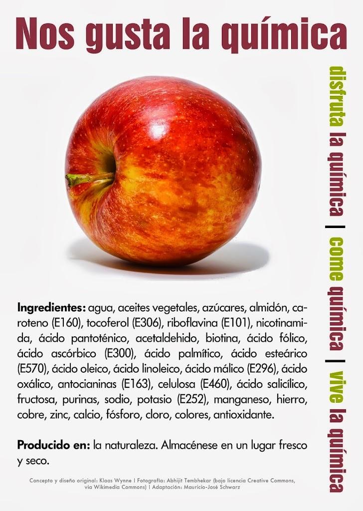 La manzana con aditivos? - No+Aditivos