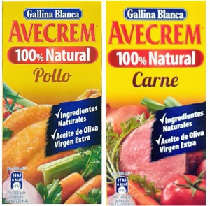 caldo de pollo Avecrem natural