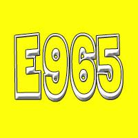 Aditivo E965